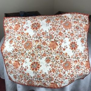 2 French Paisley Floral Throw Pillow Cover Case